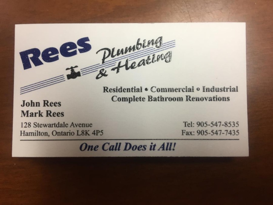 Rees Plumbing & Heating